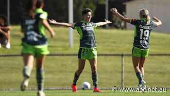 Canberra United's Michelle Heyman crowned Julie Dolan Medallist in comeback W-League season - ABC News