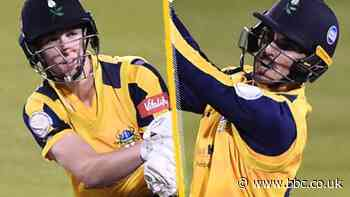Yorkshire top group after record partnership - T20 Blast round-up