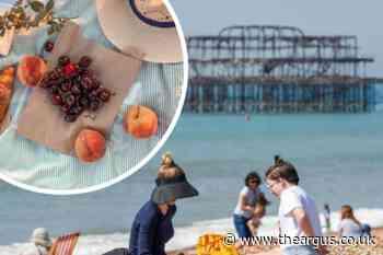 National Picnic Week: Brighton beach ranked top picnic spot