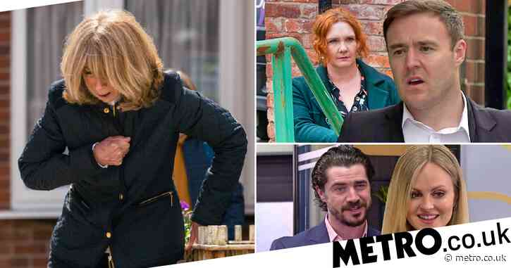 Coronation Street spoilers: 32 new images reveal Gail death fears, pregnancy shock and new factory owners
