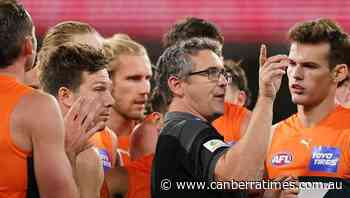 Don't dwell on COVID shift: Giants coach - The Canberra Times