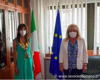 Mattei in visita alla presidente della Corte d'Appello di Trento, Silvia Monaco - La Voce di Bolzano