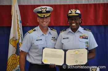 St. Thomas Native Makes Coast Guard History as Newly-Minted Commander - St, Thomas Source
