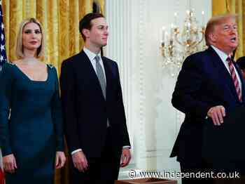 Ivanka and Jared trying to distance themselves from Trump over his constant complaining, report claims