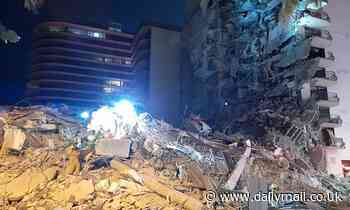 Eleven-story Miami Beach apartment building collapses sparking huge search
