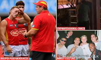 Gold Coast Suns are in total freefall on and off the field - and could be cut from the AFL