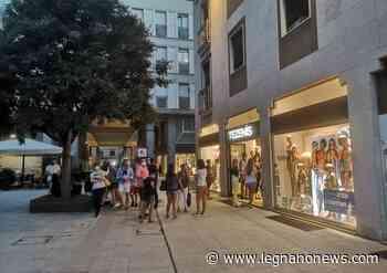 Partenza a rilento per lo shopping sotto le stelle a Legnano - LegnanoNews.it