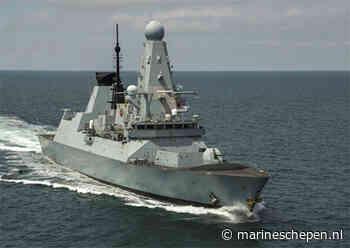 Britse marine: 'Geen Russische bommen bij HMS Defender', wel schoten gehoord - Marineschepen.nl