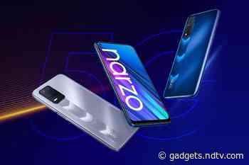 Realme Narzo 30 5G, Realme Narzo 30 With 5,000mAh Batteries, Triple Rear Cameras Launched in India: Price, Specifications