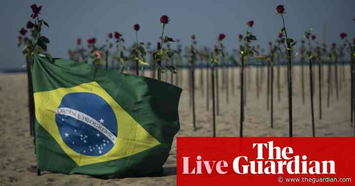 Coronavirus live news: Brazil sees record daily cases; rare side-effect for Pfizer and Moderna vaccines