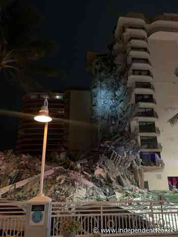 Florida building collapse: Emergency response after incident in Surfside near Miami