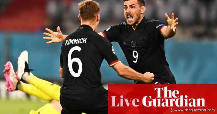 Euro 2020: England v Germany awaits at Wembley as last 16 is set – live!