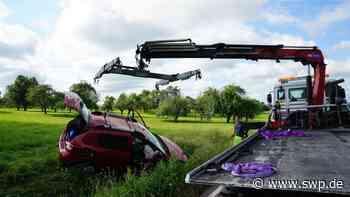 Zwei Verletzte: Straße nach Unfall bei Bad Boll gesperrt - SWP
