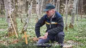 Bestattungen im Münsinger Friedwald: Förster im Totenwald