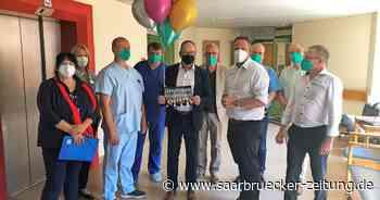 Titel für Team der Intensivstation des Marienhaus Klinikums St. Wendel-Ottweiler - Saarbrücker Zeitung