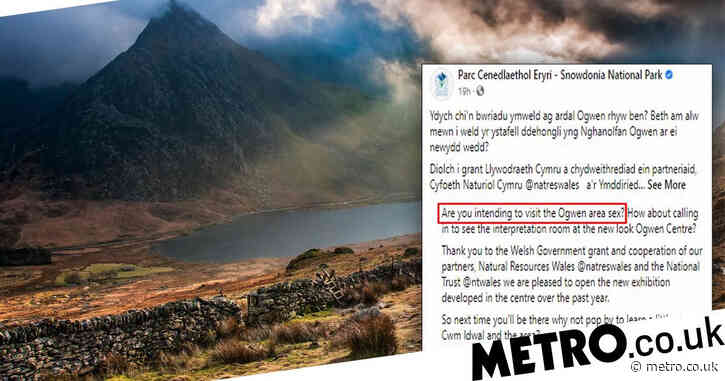 Tourists urged to visit popular Welsh 'sex area' in mistranslation gaffe