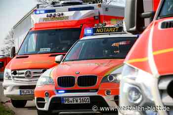 17-jährige Fußgängerin in Salzkotten schwer verletzt - Westfalen-Blatt