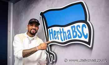 Kevin-Prince Boateng re-joins boyhood club Hertha Berlin