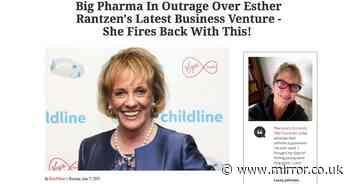 I hope the CBD scammers boil in their own oil - Esther Rantzen