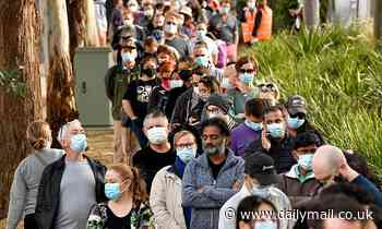 Huge lines for vaccinations show Sydney Covid outbreak could be good for Australia