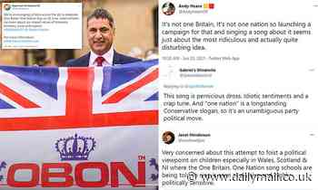 Retired policeman behind 'One Britain, One Nation' campaign blasts 'diabolical' social media trolls