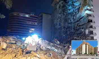 Eleven-storey Miami Beach apartment building collapses sparking huge search