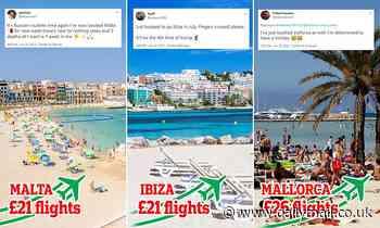 Coronavirus holidays: Britons gamble on foreign beach breaks before 'green list' update