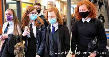 Masks could return in Solihull classrooms as latest Covid surge sparks concern - Birmingham Live