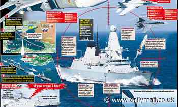 Russia will directly bomb HMS Defender if it sails too close to Crimea again, minister warns