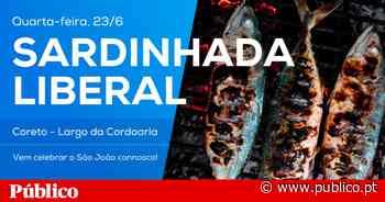 """Sardinhada da Iniciativa Liberal no Porto é um """"jantar como outro qualquer"""" - PÚBLICO"""