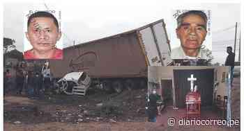 Dos muertos en accidentes de tránsito en Lambayeque - Diario Correo