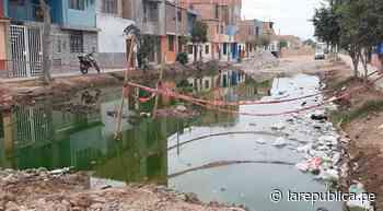Lambayeque: persisten problemas en ejecución de obra de saneamiento en Chiclayo LRND - LaRepública.pe