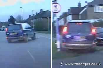 Drink-driver Karl White crashes into bollards in Littlehampton