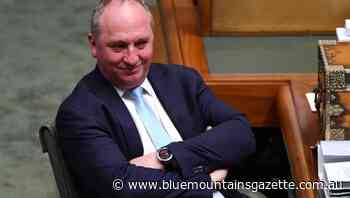 Barnaby Joyce 'a wind in the sails': PM - Blue Mountains Gazette