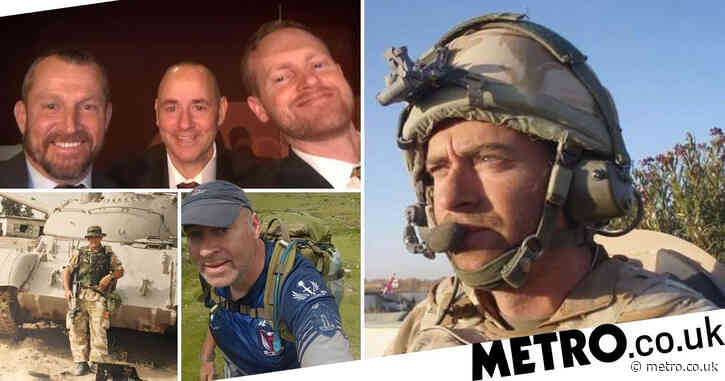 Veterans start 'virtual Everest climb' for charity that helped them with PTSD