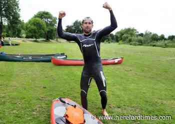 Why a Herefordshire man is swimming, biking, and running to Buckingham Palace