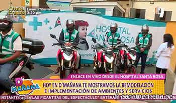 Hospital Santa Rosa renueva sistema para entrega de medicamentos a domicilio y servicios online - Panamericana Televisión