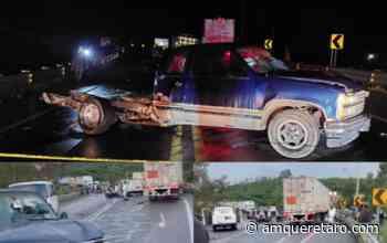 Mueren siete jóvenes en accidente automovilístico en Santa Rosa Jaúregui - Periodico a.m.