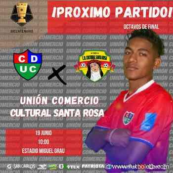 Ver en vivo Unión Comercio vs Santa Rosa por los octavos de final de la Copa Bicentenario de Perú - Futbolete