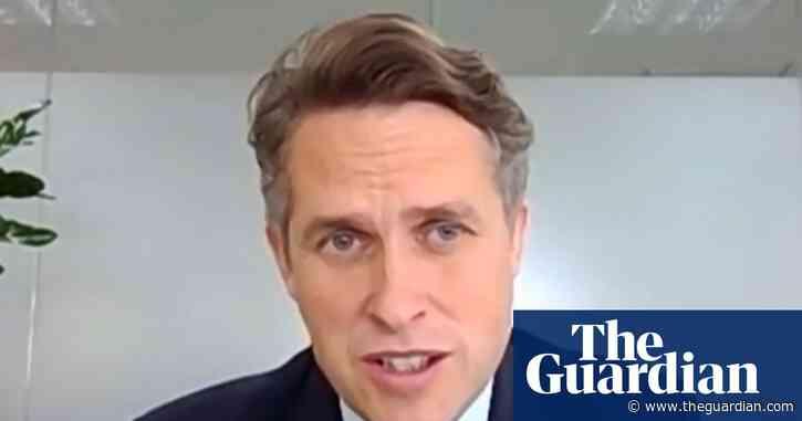 'Hyper-creepy': Gavin Williamson mocked over One Britain, One Nation song