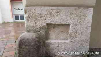 Wasserburg rätselt über mysteriöses historisches Bauteil