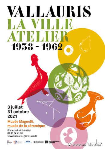 Visite commentée de l'exposition Vallauris la ville atelier 1938-1962 Musée Magnelli – musée de la Céramique samedi 3 juillet 2021 - Unidivers