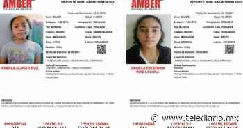 Zumpango: Buscan a Daniela e Isabel, menores sustraídas - Telediario CDMX