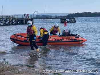 RNLI called after person fell off yacht in Poole Harbour