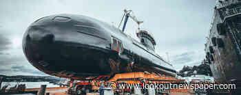 HMCS Corner Brook undocks - Pacific Navy NewsLookout Newspaper - Victoria Lookout