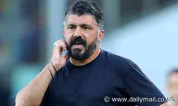 Tottenham are 'a bit of a mess', claims Gennaro Gattuso in text to Insigne