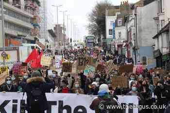 Kill the Bill: protesters to stage 'walking tour of police brutality' in Brighton today