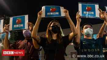 'Goodbye Apple Daily': Tears in Hong Kong paper's final hour