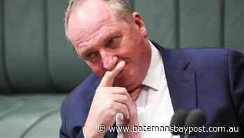 Joyce back in parliament after virus scare   Bay Post-Moruya Examiner   Batemans Bay, NSW - Bay Post/Moruya Examiner