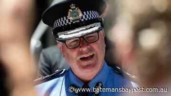 WA police commissioner in COVID isolation   Bay Post-Moruya Examiner   Batemans Bay, NSW - Bay Post/Moruya Examiner